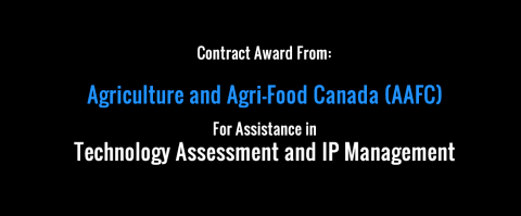 New Contract Award from Agriculture and Agri-Food Canada