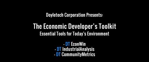 Introducing The Economic Developer's Toolkit (EDO)