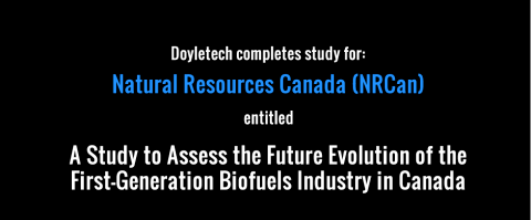 Doyletech Assesses the Evolution of First-Generation Biofuels