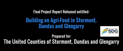Just Released: Final Report on SDG's Agri-Food Initiative