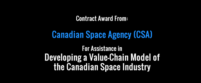 New Contract Award from Canadian Space Agency