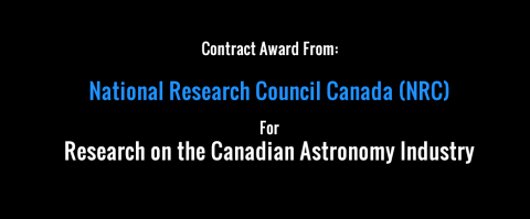 New Contract Award from National Research Council Canada