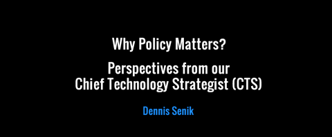 Why Policy Matters? – New Perspectives from Dennis Senik